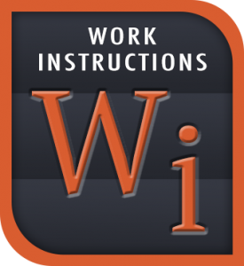 Digital Work Instructions - AWFI